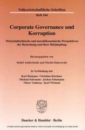Corporate Governance und Korruption.