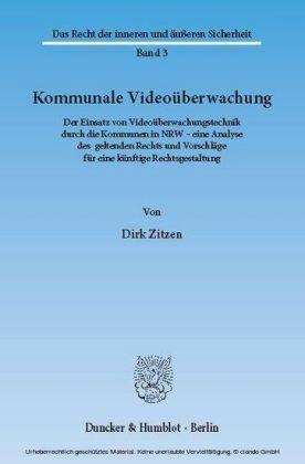 Kommunale Videoüberwachung.