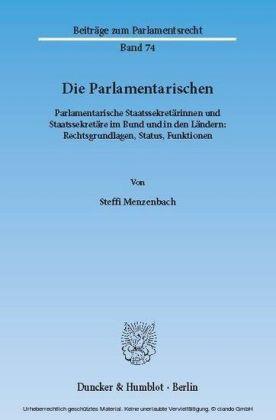 Die Parlamentarischen.