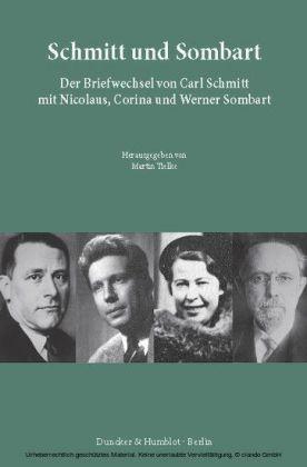 Schmitt und Sombart.