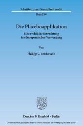 Die Placeboapplikation.