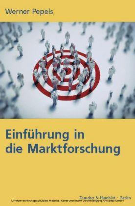 Einführung in die Marktforschung.