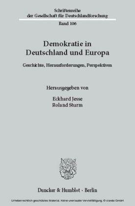Demokratie in Deutschland und Europa.
