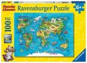 Reise um die Welt (Kinderpuzzle)