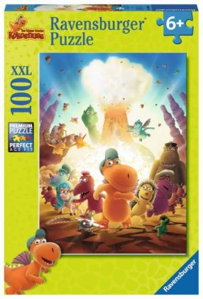 Die Abenteuer vom kleinen Drachen Kokosnuss (Kinderpuzzle)