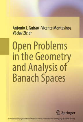 Open Problems in the Geometry and Analysis of Banach Spaces