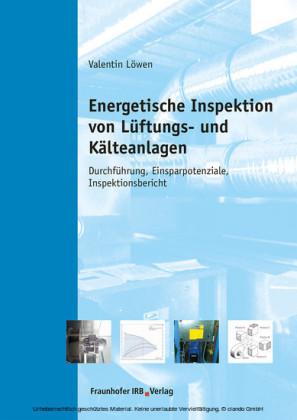 Energetische Inspektion von Lüftungs- und Kälteanlagen.