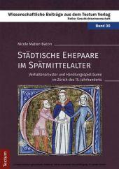 Städtische Ehepaare im Spätmittelalter