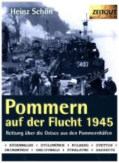 Pommern auf der Flucht. 1945 Cover