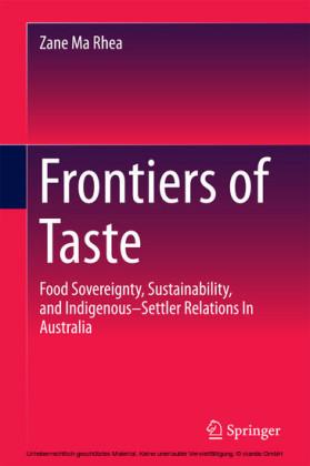Frontiers of Taste