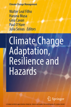 Climate Change Adaptation, Resilience and Hazards