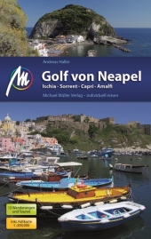 Golf von Neapel Reiseführer Michael Müller Verlag Cover