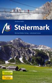 Steiermark Reiseführer, m. Karte Cover