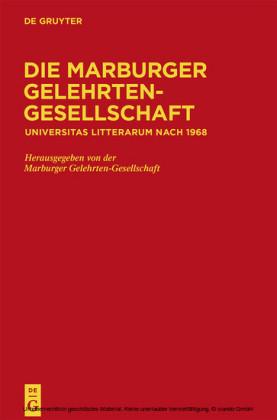 Die Marburger Gelehrten-Gesellschaft
