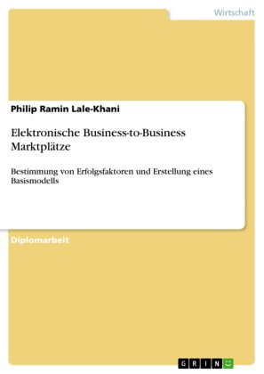 Elektronische Business-to-Business Marktplätze
