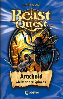 Beast Quest 11 - Arachnid, Meister der Spinnen