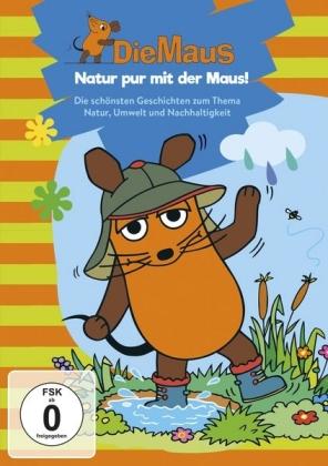 Die Maus - Natur pur mit der Maus, 1 DVD