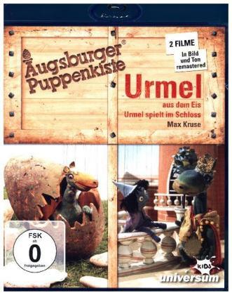 Augsburger Puppenkiste - Urmel ... aus dem Eis / ... spielt im Schloss, 1 Blu-ray