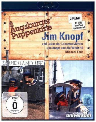 Augsburger Puppenkiste - Jim Knopf... und Lukas der Lokomotivführer / ... und die Wilde 13, 1 Blu-ray