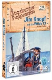 Augsburger Puppenkiste - Jim Knopf und die Wilde Dreizehn, 1 DVD Cover