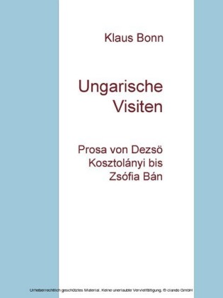 Ungarische Visiten