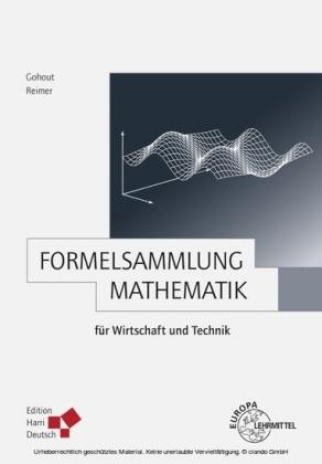 Formelsammlung Mathematik für Wirtschaft und Technik (PDF)