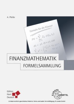 Finanzmathematik - Formelsammlung (PDF)
