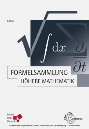 Formelsammlung Höhere Mathematik (PDF)