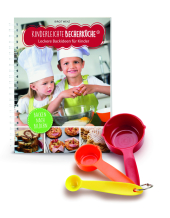 Leckere Backideen für Kinder, m. Messbecher-Set 3-tlg.