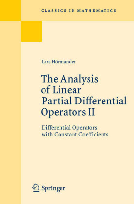 The Analysis of Linear Partial Differential Operators II