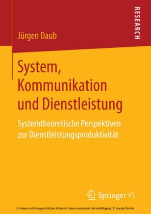 System, Kommunikation und Dienstleistung