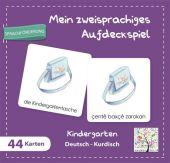 Mein zweisprachiges Aufdeckspiel, Kindergarten Deutsch-Kurdisch (Kinderspiel) Cover