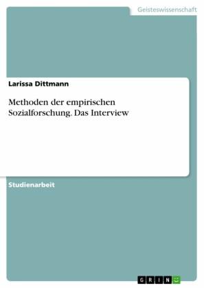 Methoden der empirischen Sozialforschung. Das Interview