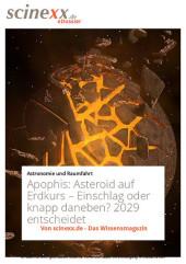 Apophis: Asteroid auf Erdkurs