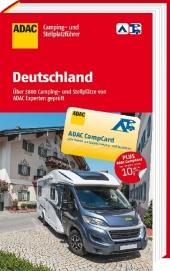 ADAC Camping- und Stellplatzführer Deutschland 2017 Cover