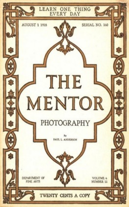 The Mentor: Photography