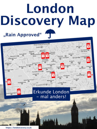 London Discovery Maps - der etwas andere London Guide