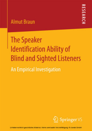 The Speaker Identification Ability of Blind and Sighted Listeners