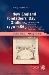 New England Forefathers Day Orations, 1770-1865