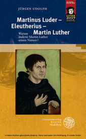 Martinus Luder - Eleutherius - Martin Luther