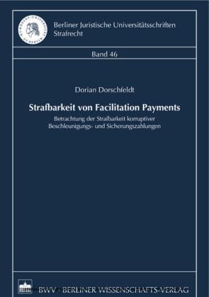 Strafbarkeit von Facilitation Payments