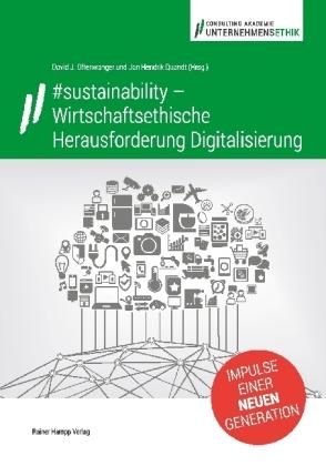 #sustainability - Wirtschaftsethische Herausforderung Digitalisierung