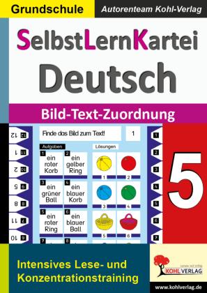 SelbstLernKartei Deutsch 5