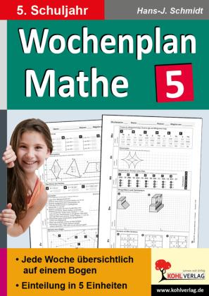 Wochenplan Mathe / Klasse 5