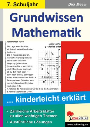 Grundwissen Mathematik / Klasse 7