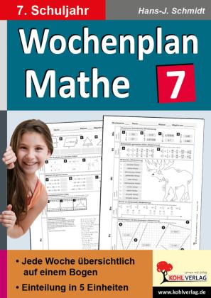 Wochenplan Mathe / Klasse 7