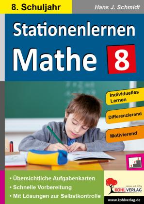 Stationenlernen Mathe / Klasse 8