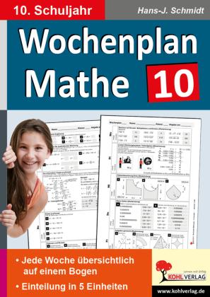Wochenplan Mathe / Klasse 10