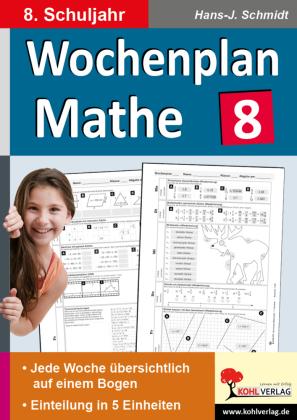 Wochenplan Mathe / Klasse 8