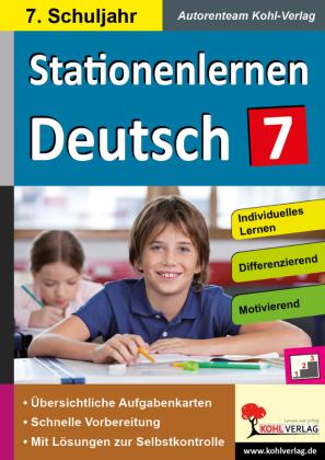 Stationenlernen Deutsch / Klasse 7